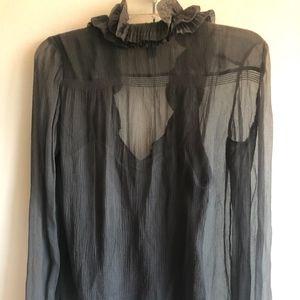 DKNY Long Sleeve Blouse